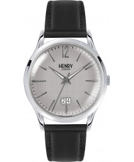 Henry London HL41-JS-0081 Mens Piccadilly Grey Crosshatch Black Watch