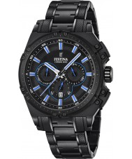 Festina F16969-2 Mens Chrono Bike Black Steel Chronograph Watch