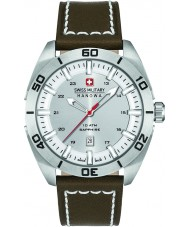 Swiss Military 6-4282-04-001 Mens Champ Brown Leather Strap Watch