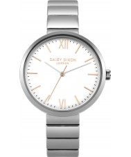 Daisy Dixon DD033SM Ladies Victoria Silver Tone Bracelet Watch