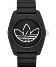 Adidas ADH3189 Santiago Black Silicone Strap Watch