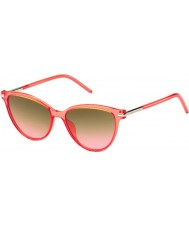 Marc Jacobs Ladies MARC 47-S TOT FX Coral Sunglasses