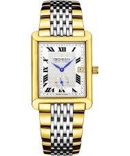 Dreyfuss and Co DGB00008-21 Mens 1974 Two Tone Gold Plated Bracelet Watch