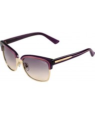 Gucci Ladies GG 4246-S 168 PG Purple Gold Sunglasses