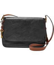 Fossil ZB6760001 Ladies Harper Large Black Cross Body Bag