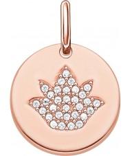 Thomas Sabo LBPE0006-416-14 Ladies Love Bridge 18ct Rose Gold Plated Pendant