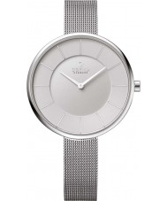 Obaku V185LXCIMC Ladies Silver Steel Mesh Bracelet Watch