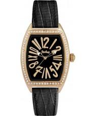Pocket PK2039 Ladies Tonneau Crystal Medio Black Watch