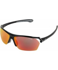 Cebe Wild Shiny Black Multilayer Sunglasses