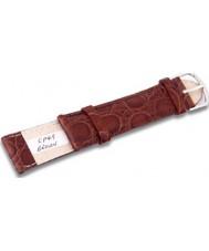 Krug Baümen CP49BrownL Turtle Brown Leather Replacement Ladies Principle Strap