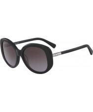 Longchamp Ladies LO601S 001 55 Sunglasses
