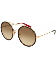Gucci Ladies GG0061S 013 56 Sunglasses