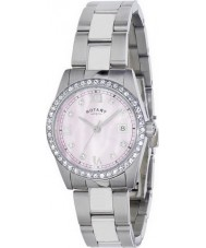Rotary LB02343-07 Ladies Timepieces Havana Crystal Set Watch