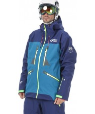 Picture MVT099-BLUEA-L Mens Naikoon Blue Anthracite Jacket - Size L