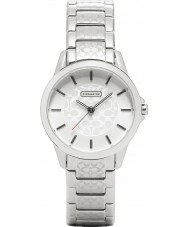 Coach 14501609 Ladies Classic Signature Silver Steel Watch