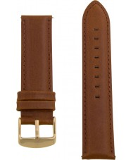 Charles Conrad CDA1006-17-L8 Brown Leather Strap