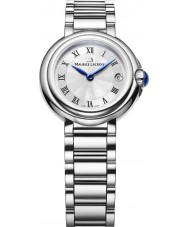 Maurice Lacroix FA1003-SS002-110-1 Ladies Fiaba Round Silver and Steel Watch