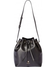 Modalu MH5062-BLACK Ladies Amber Black Bucket Bag