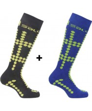 Salomon Team Junior Socks 2 Pack