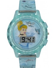 Disney Princess PN1334 Girls Princess Cinderella Watch with Blue Plastic Strap