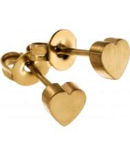 Edblad 216130006 Ladies Heart Earrings