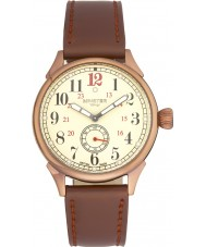 Minster 1949 MN03CRCU10 Mens Boyland Brown Leather Strap Watch