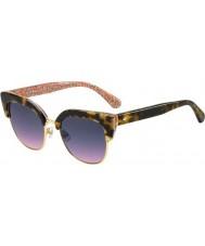 Kate Spade New York Ladies Karri-S 2NL FF Sunglasses