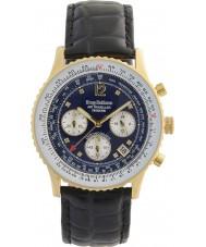 Krug-Baumen 400208DS Mens Air Traveller Diamond Watch