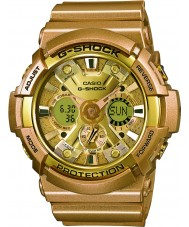 Casio GA-200GD-9AER Mens G-Shock World Time Gold Resin Strap Watch