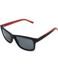Polo Ralph Lauren PH4095 57 Casual Living Matt Black 550481 Polarized Sunglasses