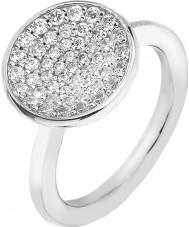 Emozioni ER005-N Ladies Scintilla Sterling Silver Ring - Size N