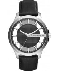 Armani Exchange AX2186 Mens Dress Black Leather Strap Watch