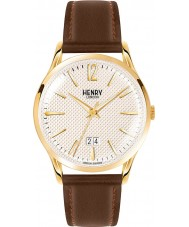 Henry London HL41-JS-0016 Mens Westminster Textured Pale Champagne Brown Watch