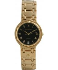 Krug Baümen 5118KM Mens Charleston Black Gold Watch