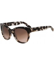 Calvin Klein Collection CK7952S Blush Tortoiseshell Sunglasses