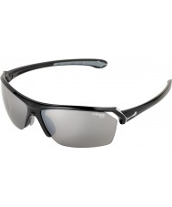 Cebe Wild Shiny Black Sunglasses