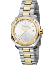 Wenger 01-1121-106 Ladies Edge Index Two Tone Steel Bracelet Watch