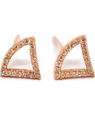 Women's Babette Wasserman Ladies Tricorn Earrings