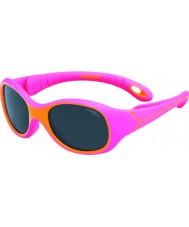 Cebe S-Kimo (Age 1-3) Fuchsia Orange Sunglasses