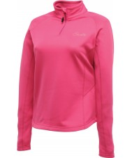 Dare2b Ladies Loveline II Fuchsia Core Stretch Midlayer