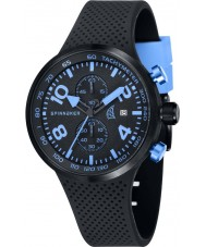 Spinnaker SP-5029-04 Mens Dynamic Black Integrated Silicone Strap Watch