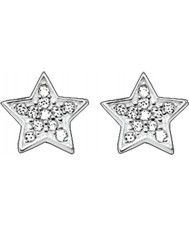 Thomas Sabo H1868-051-14 Ladies Zirconia Pave Star Silver Stud Earrings