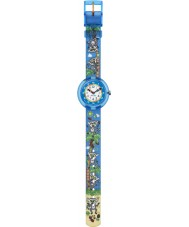 Flik Flak FBNP065 Boys Gidro Multicolour Watch