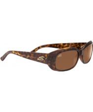 Serengeti Bianca Glitter Tortoiseshell Polarized Drivers Sunglasses