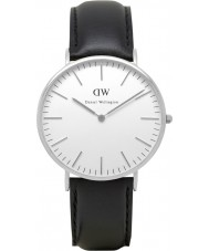 Daniel Wellington DW00100020 Mens Classic 40mm Sheffield Silver Watch