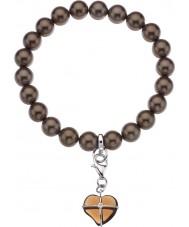 Hot Diamonds DL270 Ladies Diamond Life Bronze Charm Carriers Bracelet