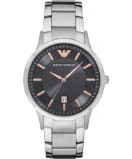 Emporio Armani AR2514 Mens Dress Silver Steel Bracelet Watch