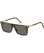 Marc Jacobs Mens MARC 46-S TLR 8H Havana Sunglasses