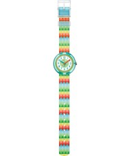 Flik Flak FPNP015 Sweet Flags Watch