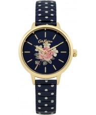 Cath Kidston CKL009UG Ladies Richmond Navy with White Polka Dot Watch